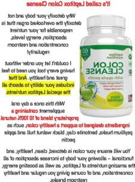 â–· Leptitox : Leptitox Weight Loss Pills - MUST Read This 2020 Review [2020]